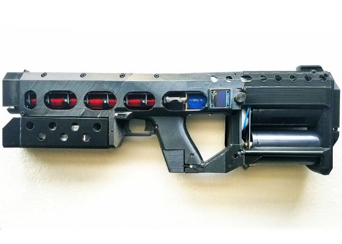 электромагнитный катушечный карабин ArcFlash EMG-01A