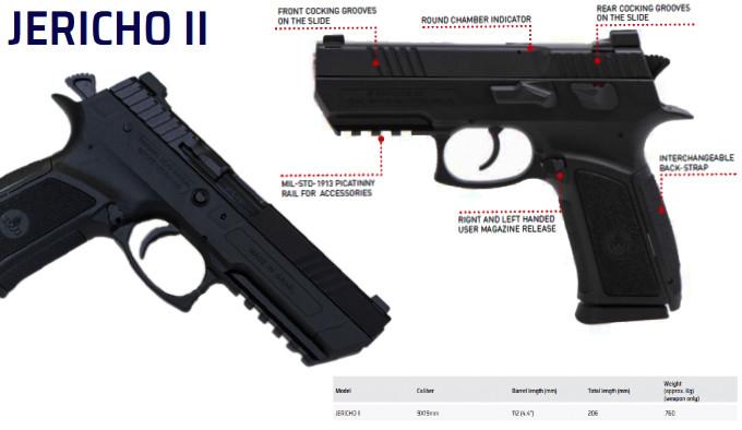 новый самозарядный пистолет армии Израиля в калибре 9х19