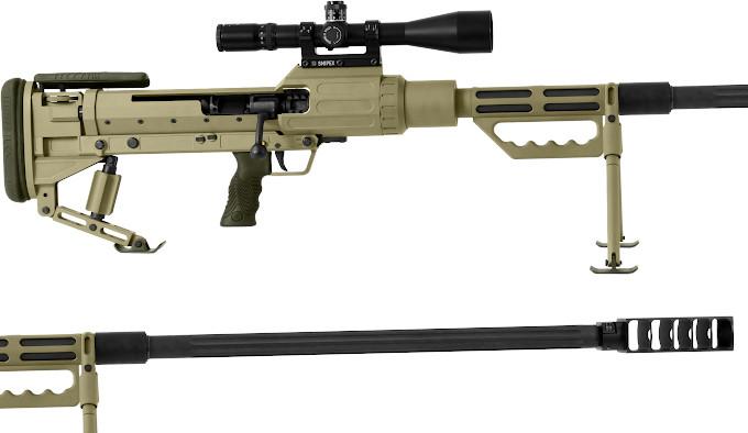 Крупнокалиберная винтовка Snipex T-Rex