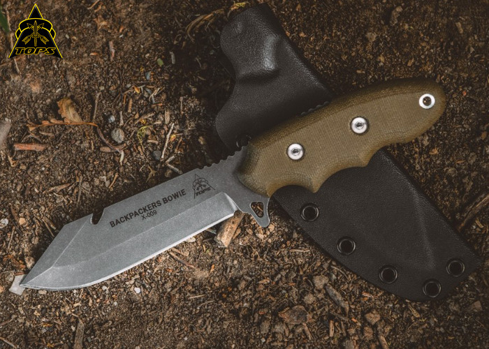 Нож TOPS Backpacker Bowie