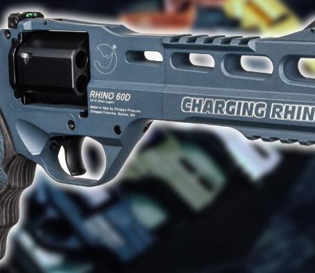 Второе поколение револьверов Chiappa Charging Rhino Gen II