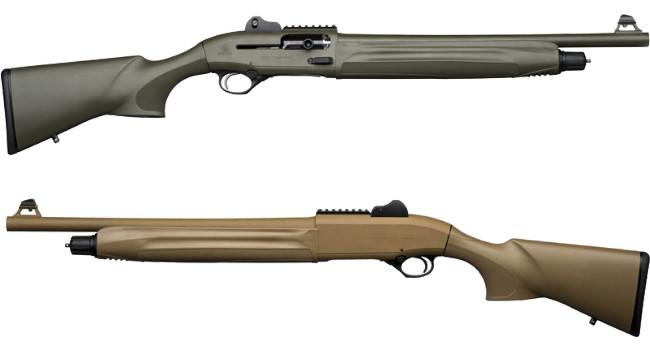 Beretta 1301 Tactical OD Green и 1301 Tactical FDE
