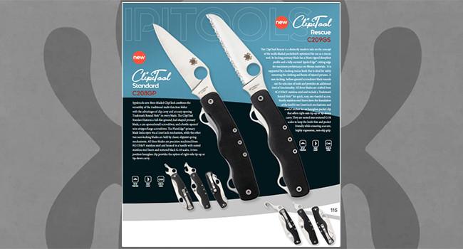 Нож Spyderco Clipitool