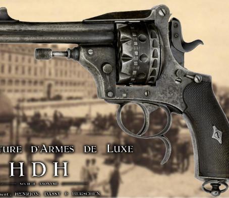 Двухствольные револьверы HDH - Henrion, Dassy & Heuschen