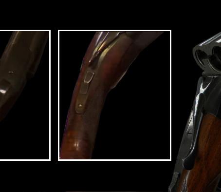 Ружьё Winchester Model 21 с кривым прикладом