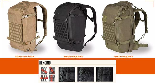 рюкзаки 5.11 Tactical AMP с сеткой HEXGRID