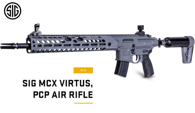 Пневматическая винтовка SIG SAUER MCX Virtus PCP