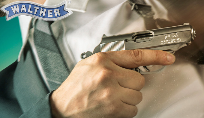 компактный немецкий пистолет в калибре .380 ACP из нержавеющей стали