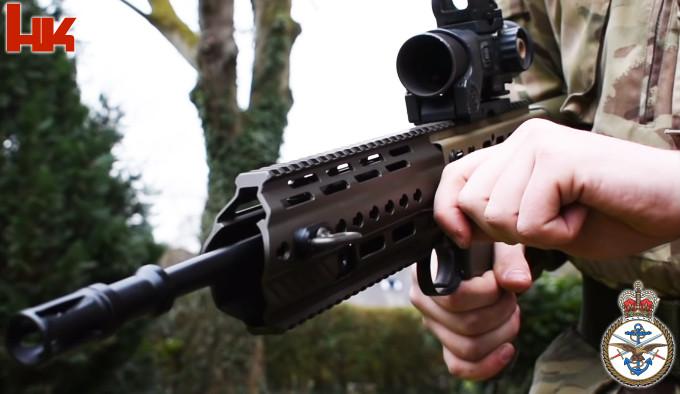 штурмовая винтовка Великобритании