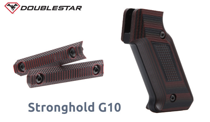 Линейка деталей DoubleStar Stronghold из G-10