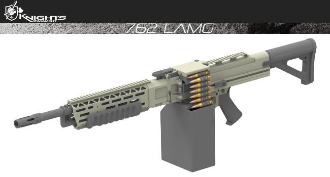 пулемет Knight's Armament LAMG
