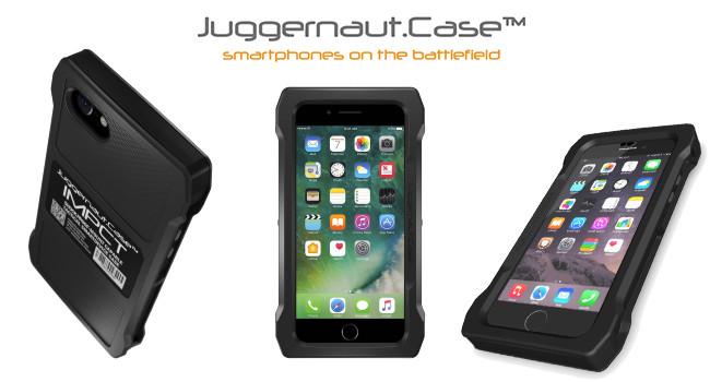 Тактический защитный чехол Juggernautcase IMPCT для iPhone 7 и 8 Plus