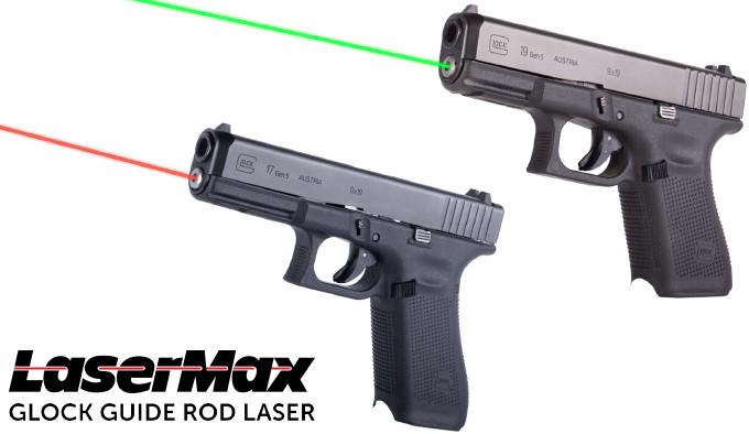 Лазерные целеуказатели LaserMax для Glock Gen 5
