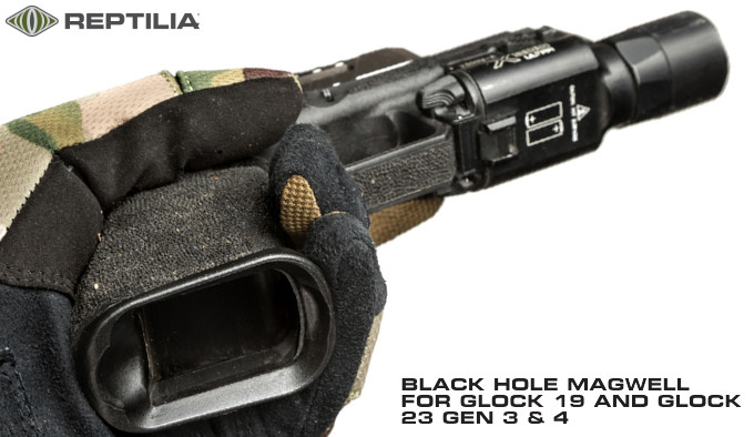 расширитель пистолетной рукоятки Reptilia Black Hole