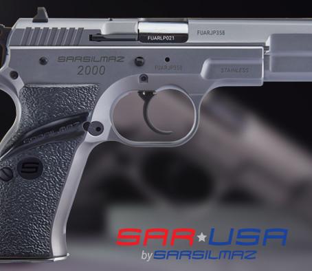 Пистолет Sarsilmaz SAR 2000