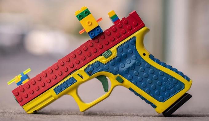 лего пистолет Culper Precision Block19