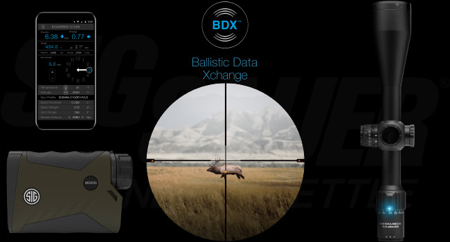 Система обмена баллистическими данными Sig Sauer BDX