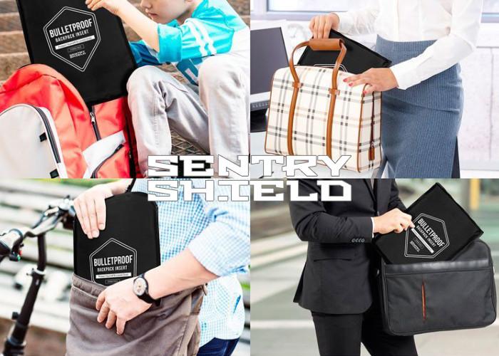 Баллистические панели SentryShield для сумок и рюкзаков