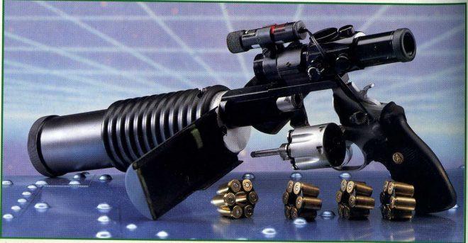 револьвер PSDR