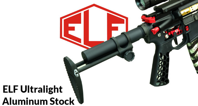рукоятка Elftmann Ultralight Aluminum на карабине