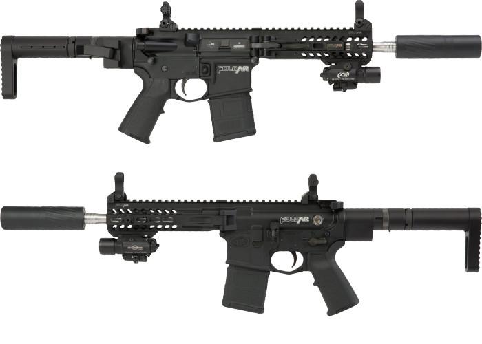 винтовка Double Fold AR 15