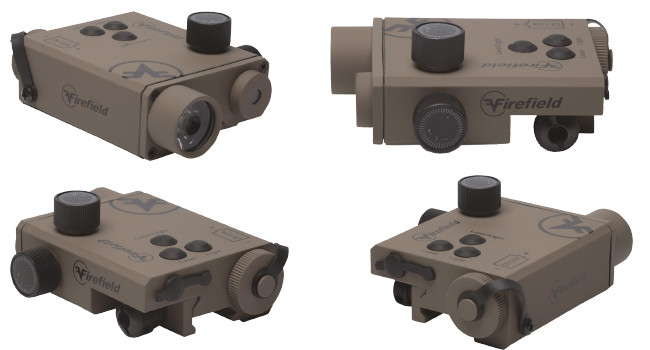 фонарь и лазерный целеуказатель Firefield Charge XLT FDE
