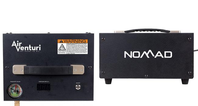 Мобильный компрессор AirVenturi Nomad для PCP