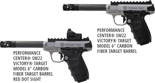 Smith & Wesson Performance Center SW22 Victory Target Carbon Barrel