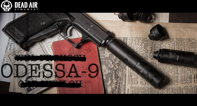 Модульный глушитель Dead Air Silencers Odessa-9