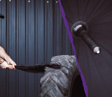 Боевой зонтик Walther Umbrella CarbonTac