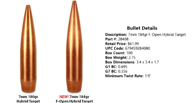 пули Berger 7mm в сравнении