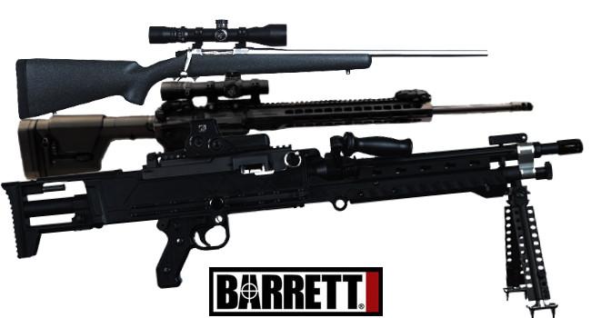 Новинки оружия Barrett на SHOT Show 2018