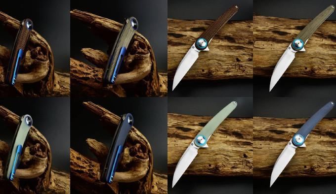 Модельный ряд ножа ArtisanCutlery Cazador