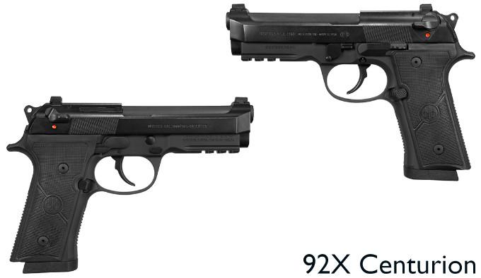 Пистолет Beretta 92X Centurion
