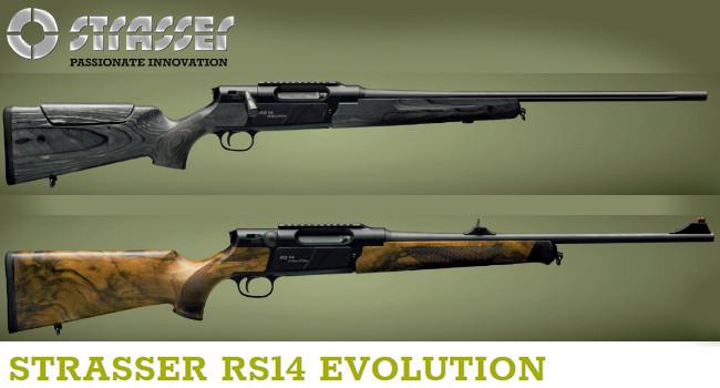 Винтовки Strasser RS-14 Evolution
