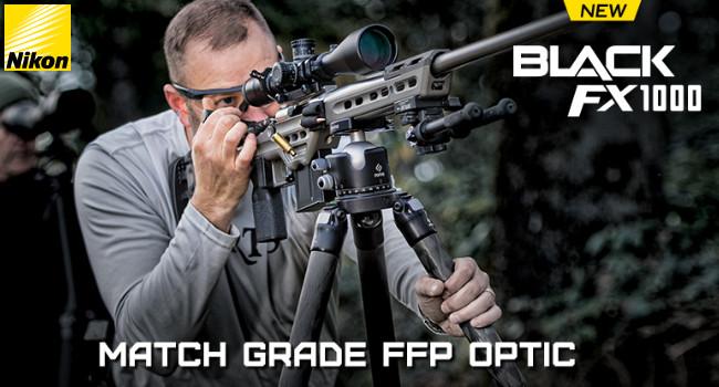 Оптические прицелы Nikon BLACK FX1000