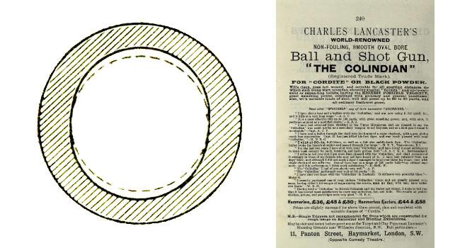 сверловка Ланкастер и рекламная брошюра того времени