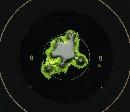 Точность и кучность стрельбы
