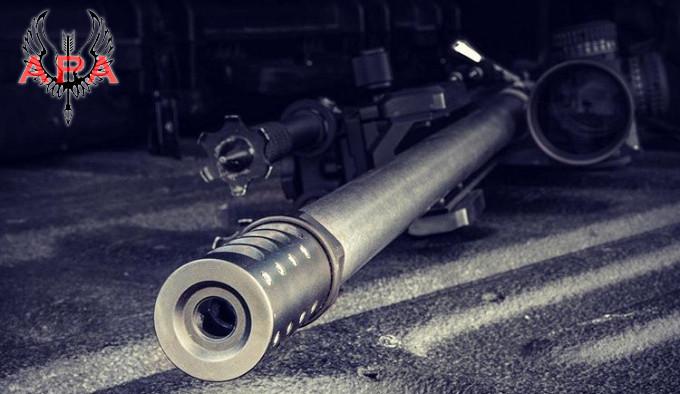 дульный тормоз для высокоточных винтовок