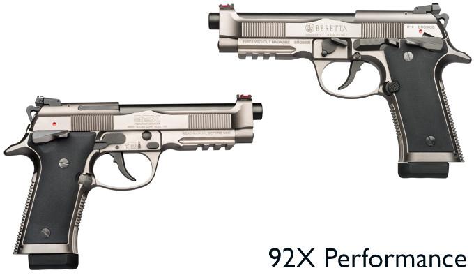 Пистолет Beretta 92X Performance