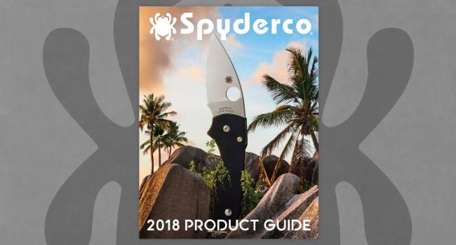 Каталог Spyderco 2018