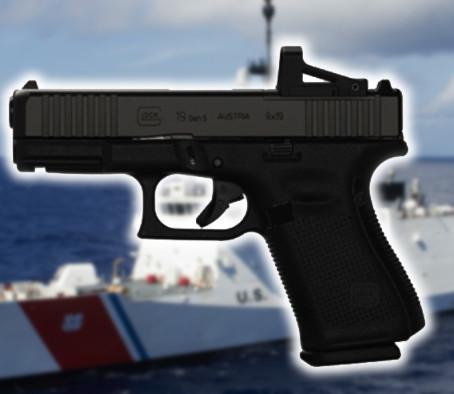 Береговая охрана США выбрала пистолеты Glock 19 Gen5 MOS