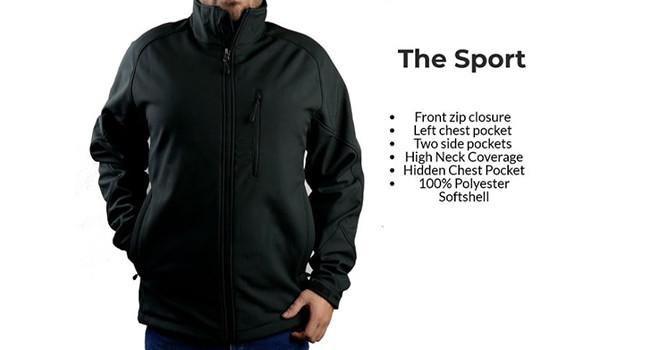 Куртка олимпийка The Sport