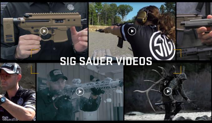 Видео архив Sig Sauer