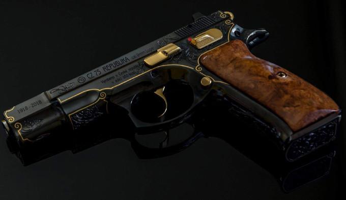 Подарочный пистолет CZ 75 Republika