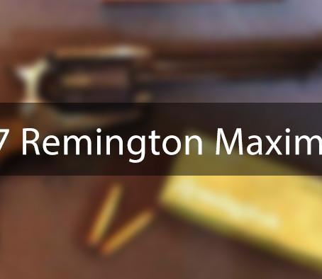 Патрон .357 Remington Maximum