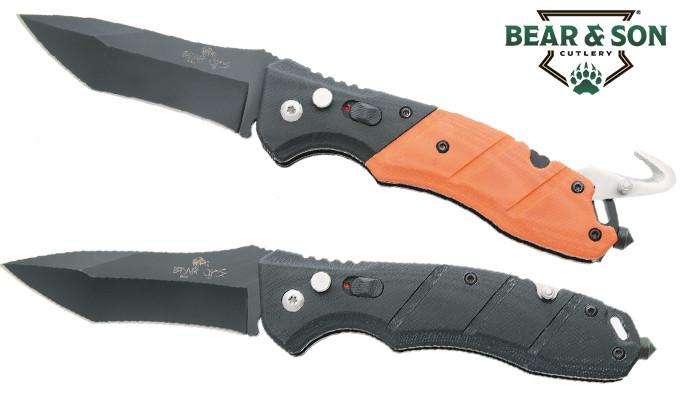 полуавтоматический складной нож с клинком из стали 14C28N