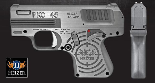 пистолет Heizer Defense PKO-45