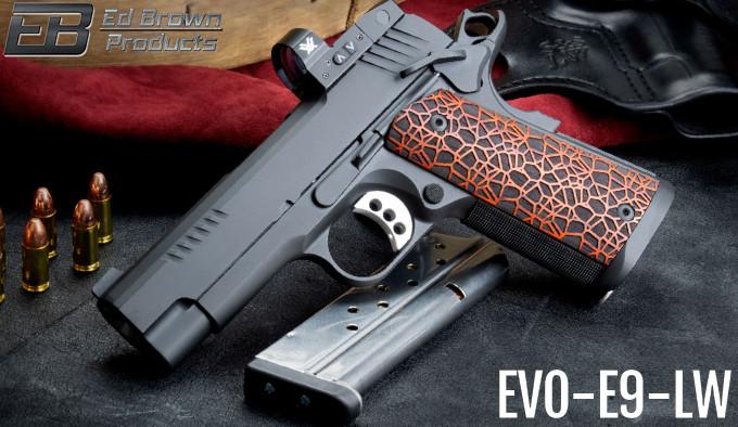 пистолет E9-LW слева