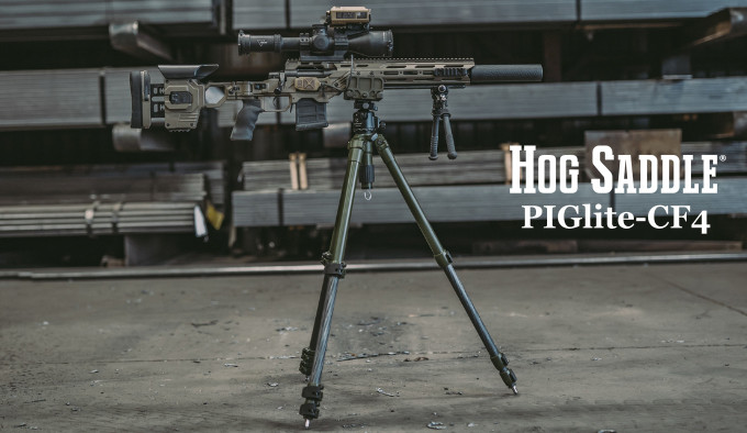 Тренога для оружия HOG Saddle PIGlite-CF4